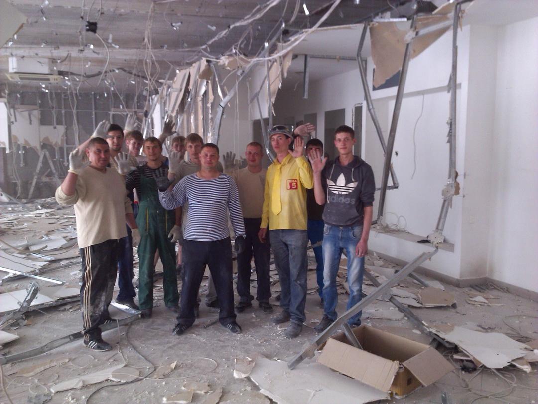 Демонтаж квартиры Киев