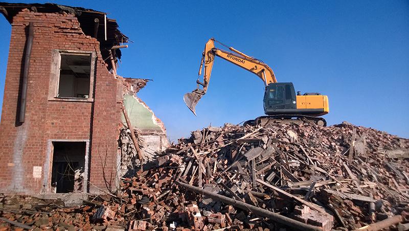 Демонтаж домов Киев