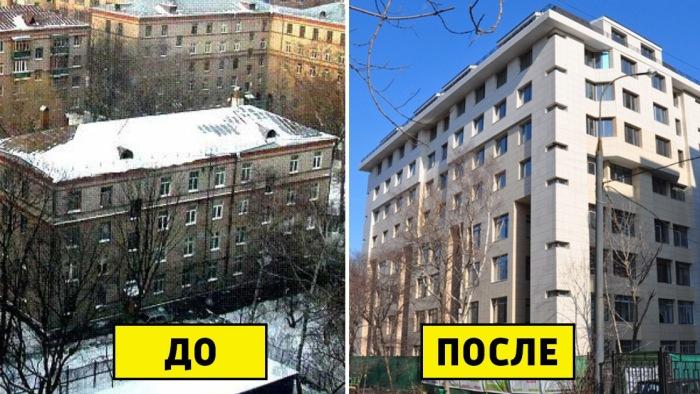 Реконструкция построенных домов