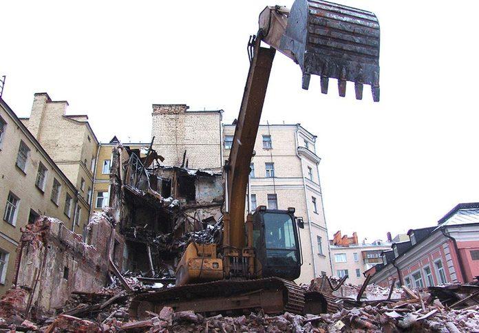 Слом конструкций и объектов